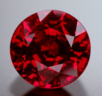"10558:  A magnificent ""pidgeon blood"" color Burmese ruby weighing 1.15 carats.  Regular price:  $9,800.00 on sale at 25% off"
