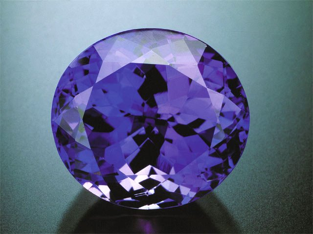 back purple flat crystals swarovski tanzanite